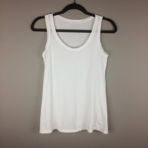 Everlane white 100% Subpima Cotton tank top